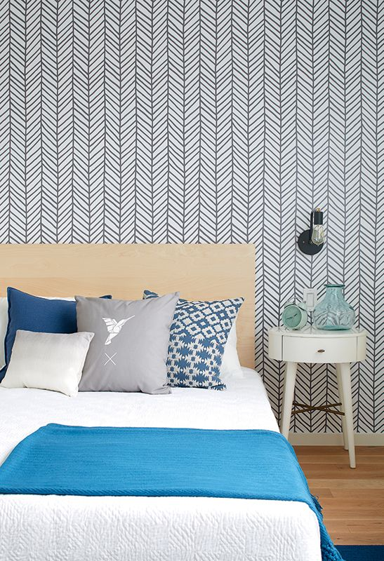 Une maison au style scandinave | CHEZ SOI Photo: ©TVA Publications | Yves Lefebvre #deco #maison #scandinave #visiteguidee #chambre