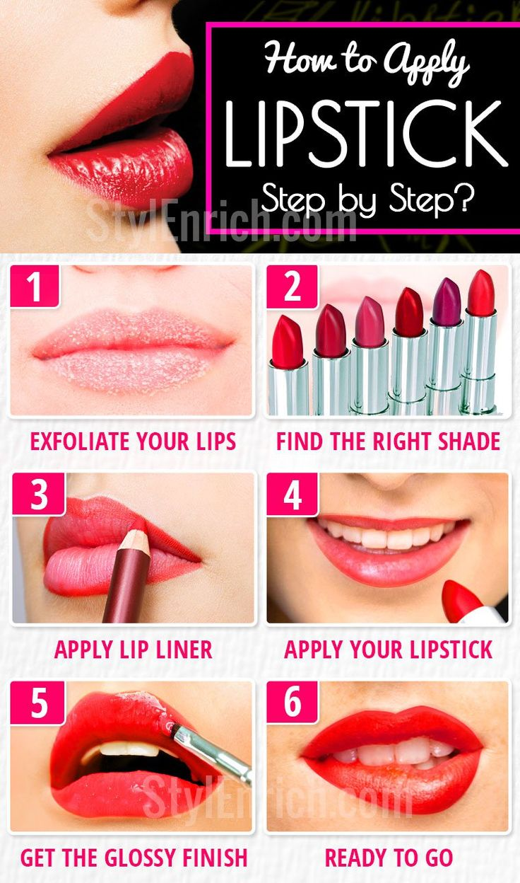 Atanbiyi Gabriel: Learn How To Apply Lipstick Step by Step?