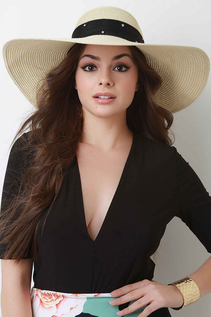 Top off your holiday look with a stylish sun #hat from our collection.  #womenhats #accessories