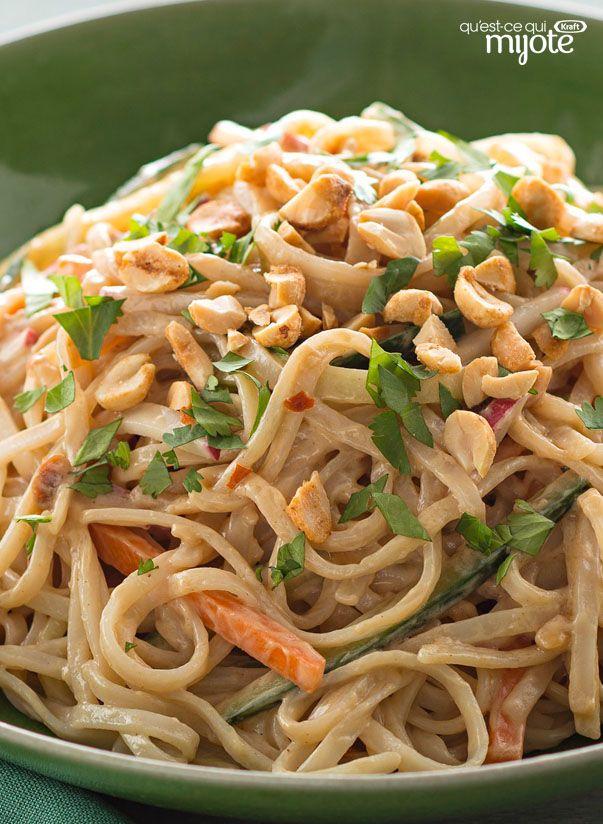 Salade de nouilles thaïes #recettes