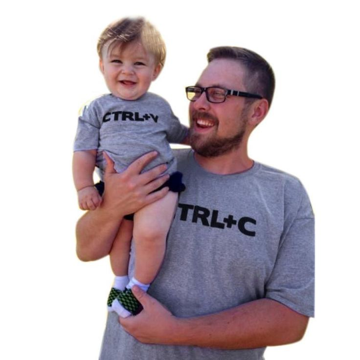 Father Son clothes Toddler Infant Baby Kids Girls Boys Letter T-Shirt Top Blouse