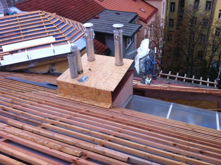 #Rekonstrukce šikmé střechy