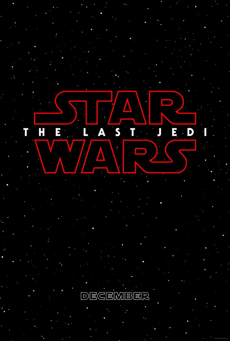 Se revela título oficial y póster de Star Wars 8 | Cine PREMIERE