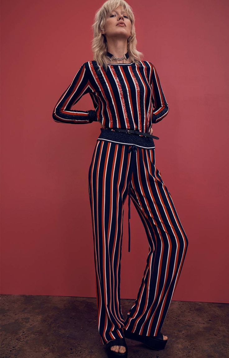 Seeing Stripes Markus Lupfer Jumper and Jogger
