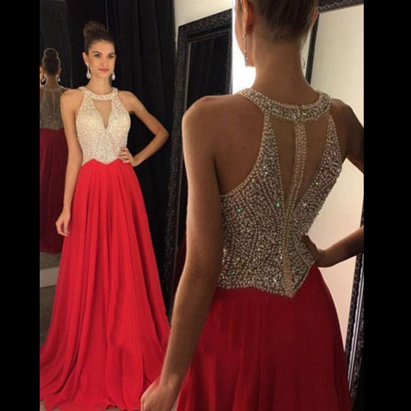 17 Best ideas about Red Prom Dresses on Pinterest   Beautiful red ...