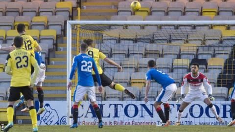 Livingston 1-0 Rangers