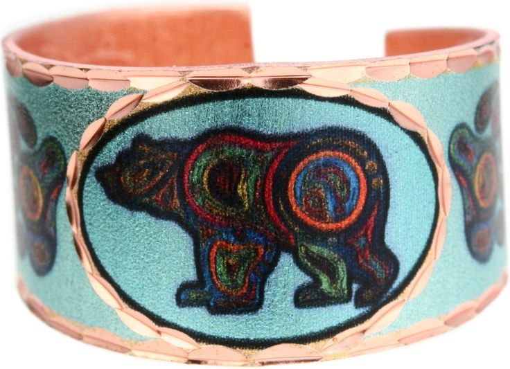 'Bear' Artist Collection Copper Ring