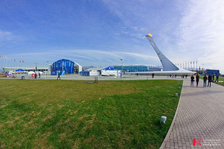 Чаша Олимпийского огня в Сочи