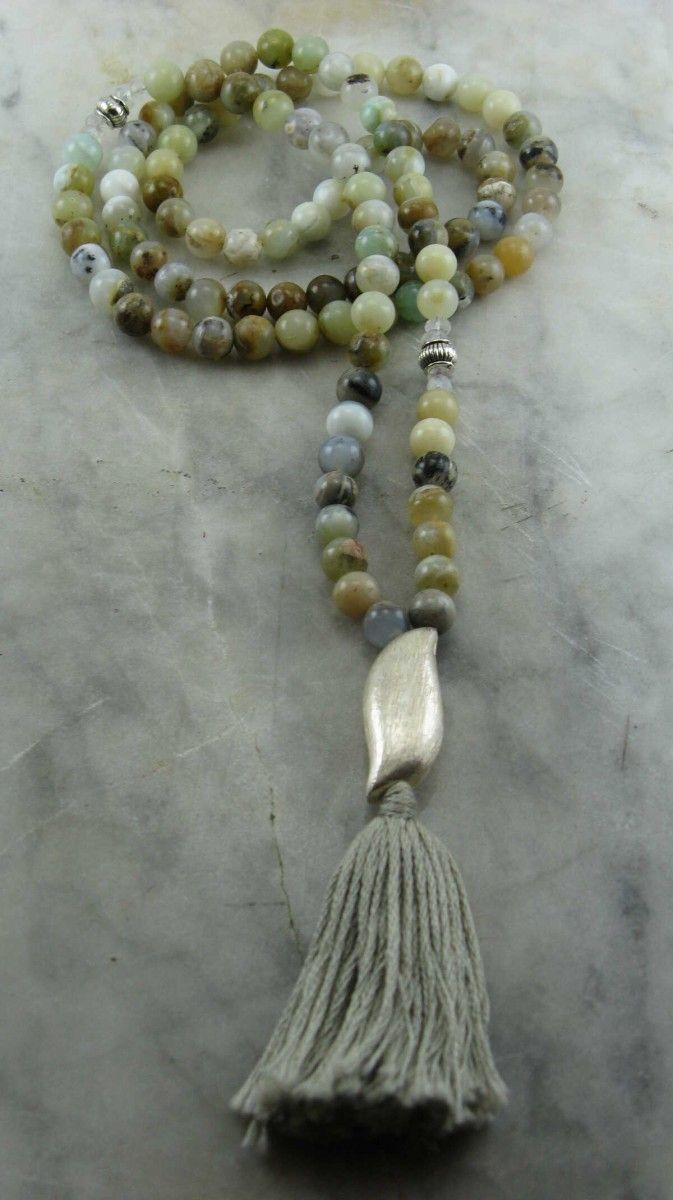 Ayurvedic Water Mala 108 Mala Beads Buddhist Prayer Beads