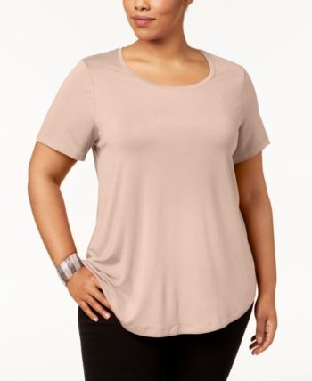 JM Collection Plus Size Short-Sleeve Top 9