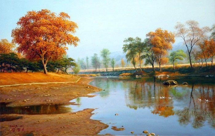 картины художника Kang Jung Ho – 03