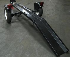 Ace Folding Motorcycle Trailer Portable Collapsible Foldable - Single Rail