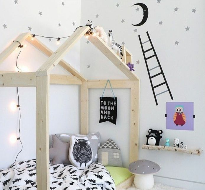 17 meilleures id es propos de maisonnette bois enfant. Black Bedroom Furniture Sets. Home Design Ideas