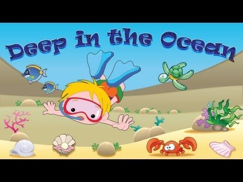 Deep in the Ocean, Deep in the Sea | Song for Kids Learning English | Se...