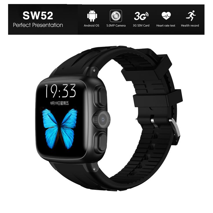 Ordro sw52 android 4.4 3g bluetooth smartwatch smart watch telefon MTK6572 Unterstützung SIM TF Karte GPS WiFi 3MP Kamera Wasserdicht IOS //Price: $US $76.08 & FREE Shipping //     #smartwatches