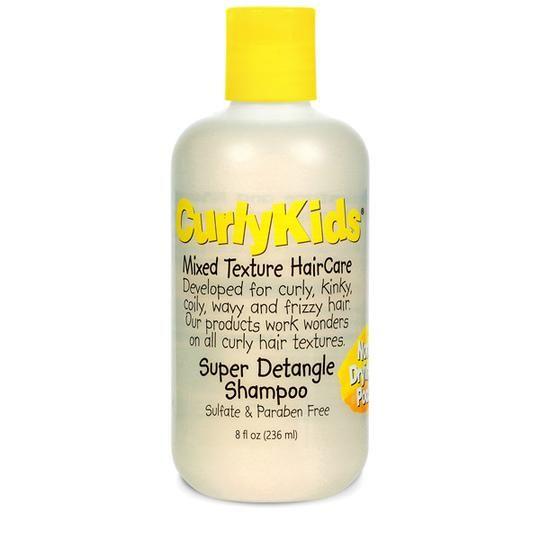 Super Detangle Shampoo Curly Kids Kids Shampoo Mixed Kids