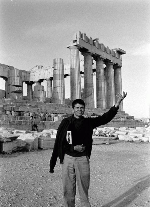 Gregory Corso at the Acropolis