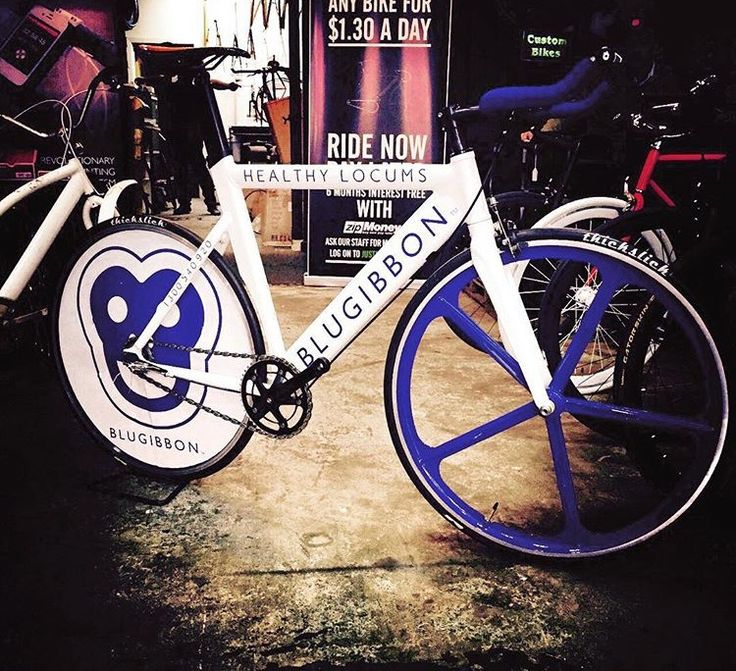 #blugibbon bike! All the way from Melbourne #cycling #healthylocums
