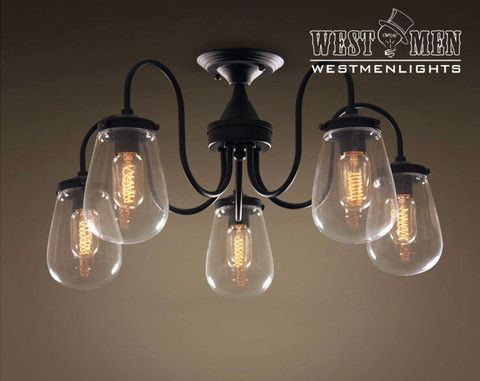Westmenlights Bedroom Modern Ceiling Lights Glass Globe 5