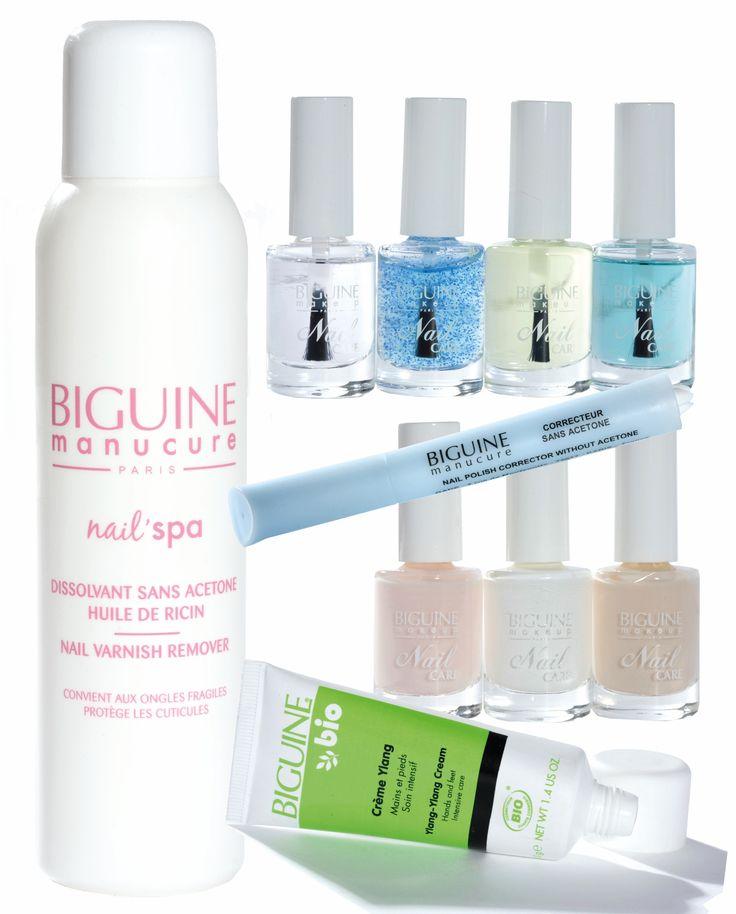Produits de soin manucure #nail BIGUINE makeup