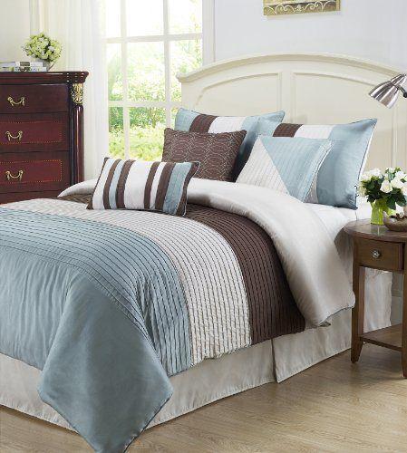 Blue And Brown Bedroom Set 62 best for the master bedroom images on pinterest | comforters
