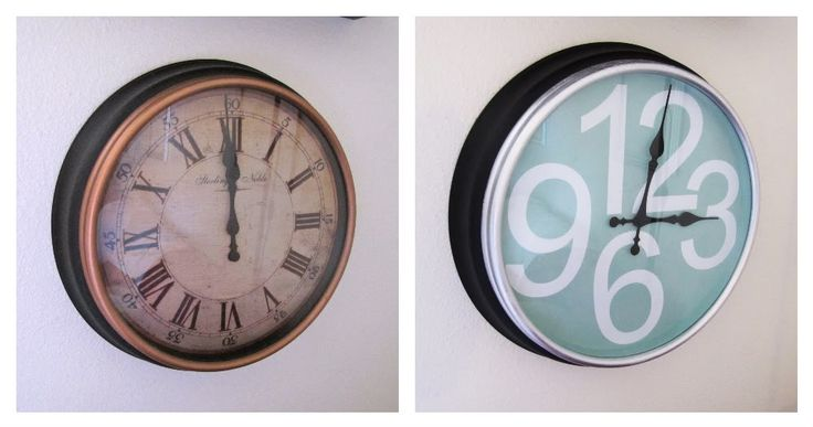 88 best diy home accents images on pinterest home ideas for Bathroom clock ideas