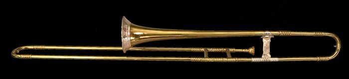 Trombone by Johann Paul Franck, Hildburghausen,1744