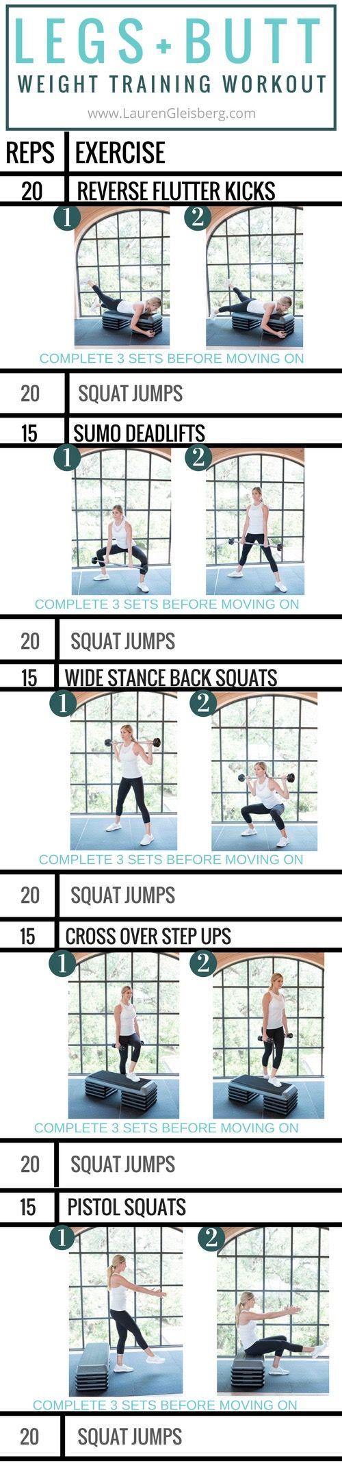 Legs and Butt Workout (Fall Challenge Day 2) LaurenGleisberg.com