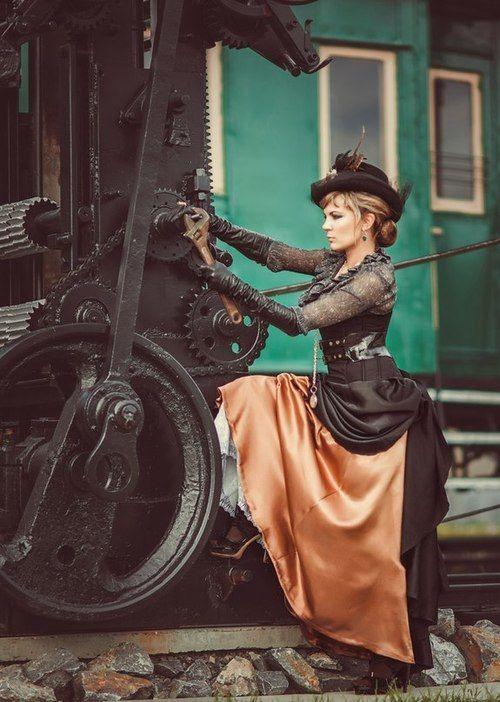 Mr Steampunk One — Diana Lipkina