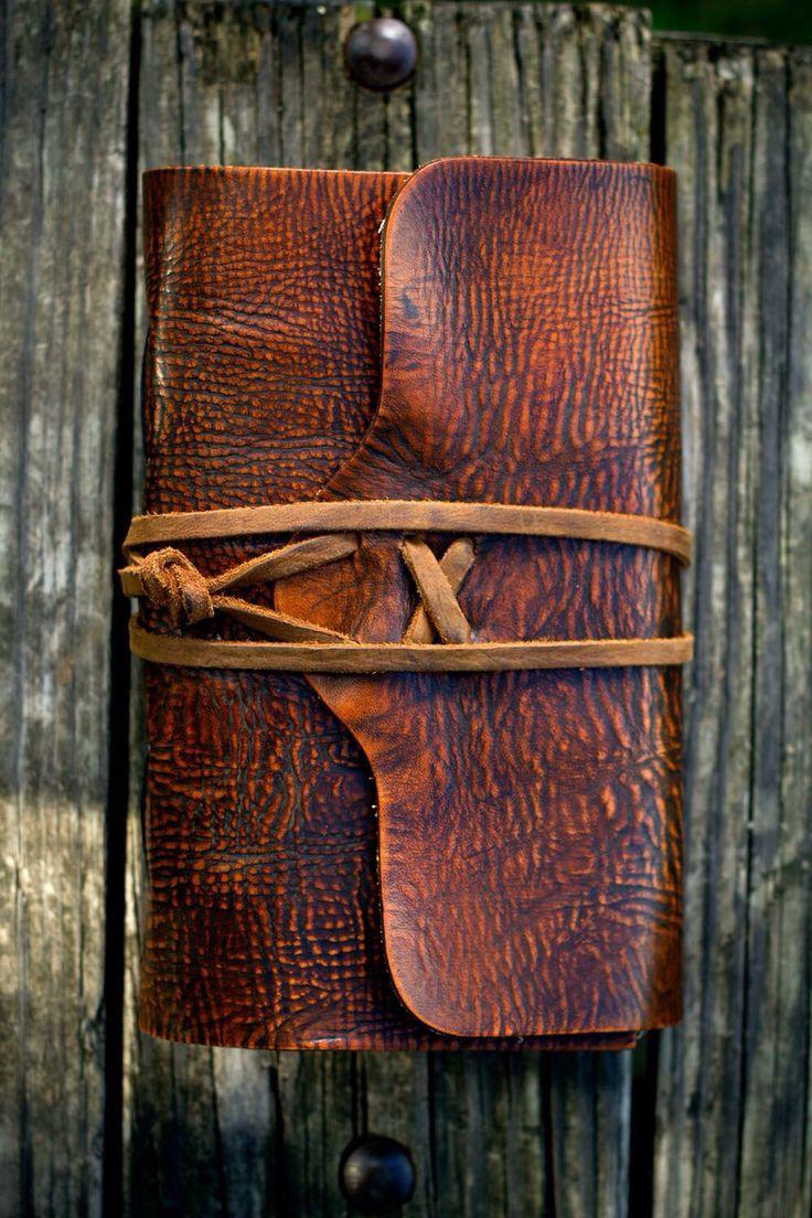 Beautiful leather agenda