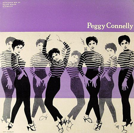 Peggy Connelly, LP cover (1956)  Design: Burt Goldblatt  Source: TaringaAlbum Covers, Black Magic, Bridesmaid Dresses, Film Photography, Burts Goldblatt, Covers Design, Records Covers, Records Sleeve, Peggy Connelly