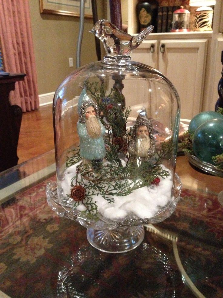 25 unique antique christmas decorations ideas on for Christmas glass jar decorations