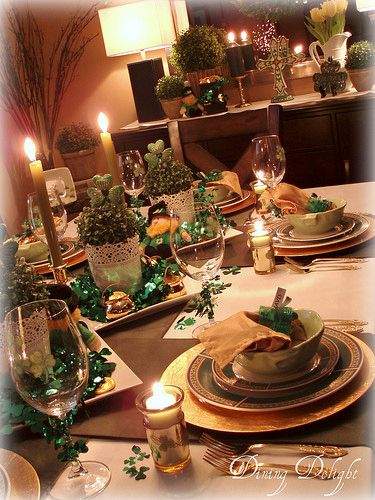 Dining Delight St Patrick S Day Table For Six St