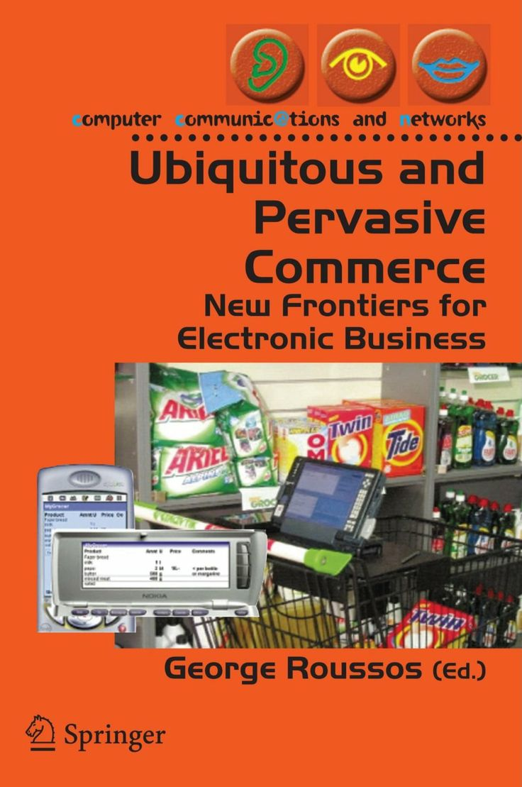 I'm selling Ubiquitous and Pervasive Commerce: New Frontiers for Electronic Business by George Roussos - $15.00 #onselz