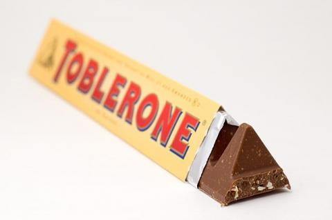 Toblerone chocolate bar...LOVE