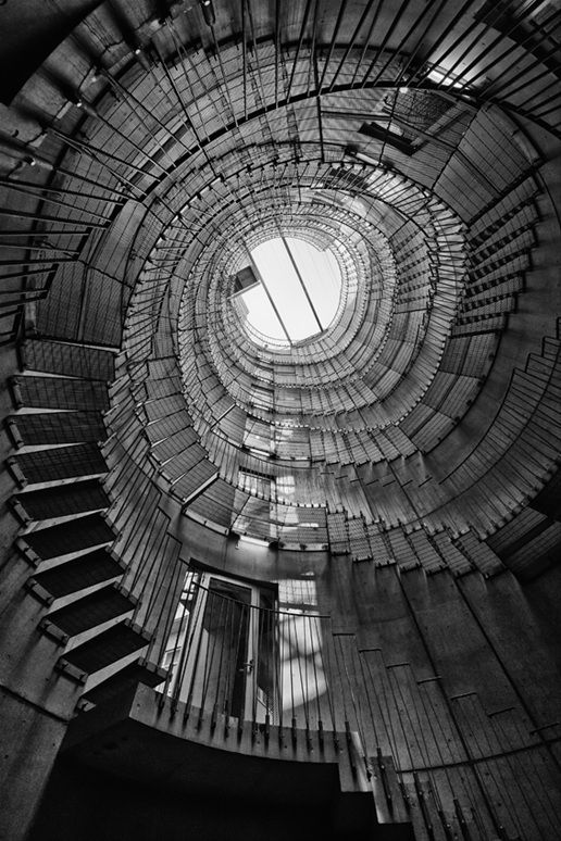 by aoki ryomaPhotos, Stairs, Staircases, Perspective Photography, Architecture, Ryoma Aoki, Black, Stairways, Spirals Staircas