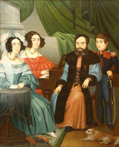 Familia vornicului Vasile Alecsandri