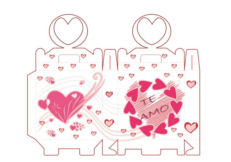 Caja de regalo para tu pareja manualidades para ni os - Cajas decoradas para bebes ...