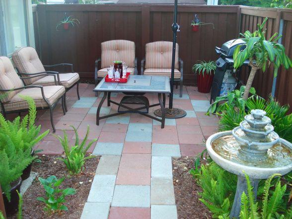 small condo patio design ideas