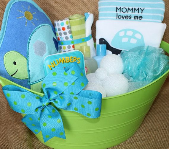 Hey, I found this really awesome Etsy listing at https://www.etsy.com/listing/185719866/precious-turtle-bath-time-gift-basket