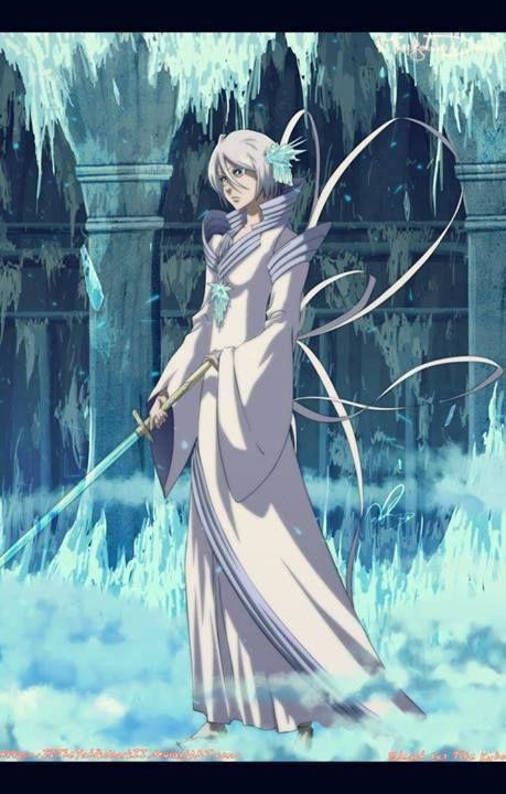 Beautiful Bankai Rukia Kuchiki - Bleach