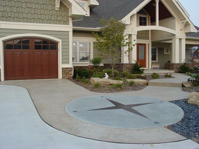 Best 20+ Stained Concrete Driveway Ideas On Pinterest | Stamped Concrete  Driveway, Diy Concrete Driveway And Stamped Concrete