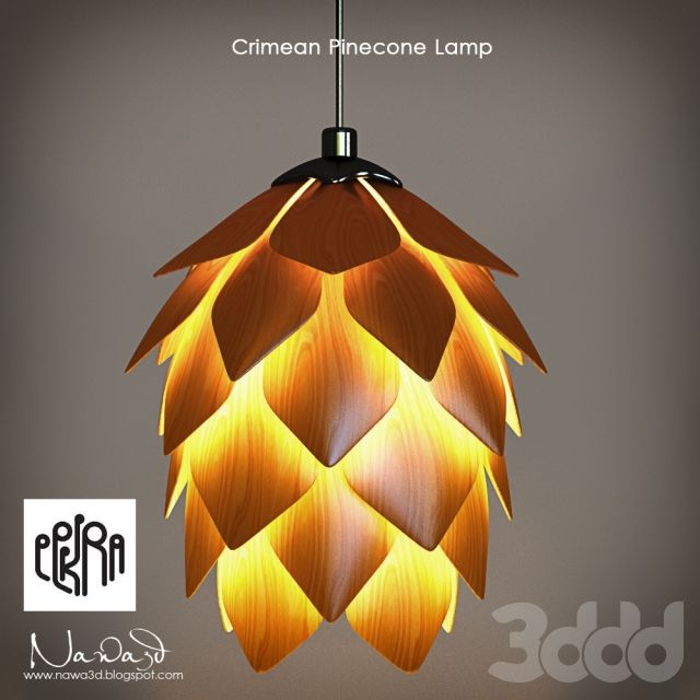 Eekra / Crimean Pinecone Lamp