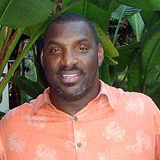 Doug Williams, first and only black quarterback to engineer a Super Bowl win, 42-10.