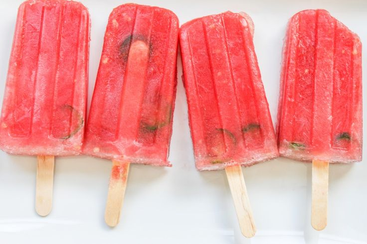 Spicy Watermelon Popsicles