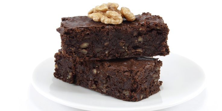 Шоколадные пирожные с пшеном вместо муки