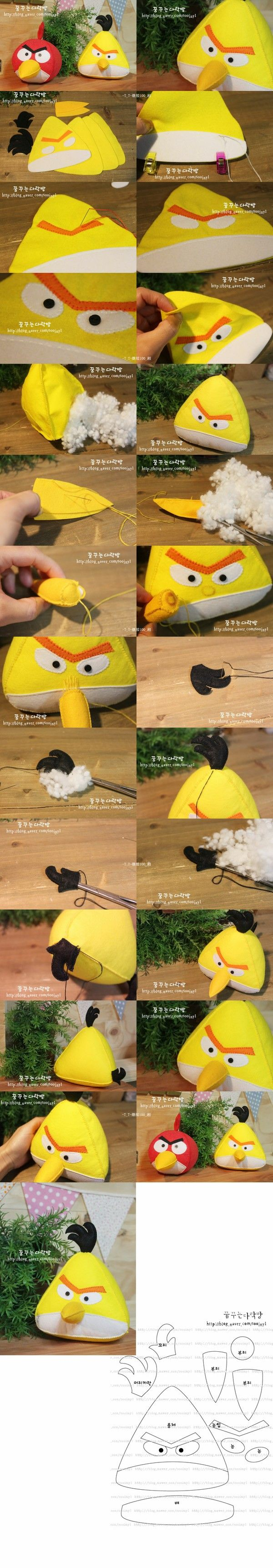 Angry Birds ~ juego no jugado Angry Birds ï ¿  ½ oído su nombre ï ¿  Varios Magical ï ¿½ no tejido  Ï ¿½ Angry Birds artículos de muñecas  ½ pájaro amarillo ~ 6-3 (viento amarillo)