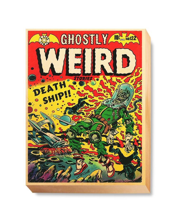 HOR 011 Horror Comic Cover - Ghostly Weird