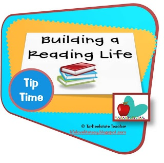 "blog posts focusing on Tips for Building a Reading life (inspired by Lucy Calkins Reading Units of Study)...focuses on strategies for targeting struggling readers early on in the year...also look for ""Coaching Our Own Reading Life"" ideas"