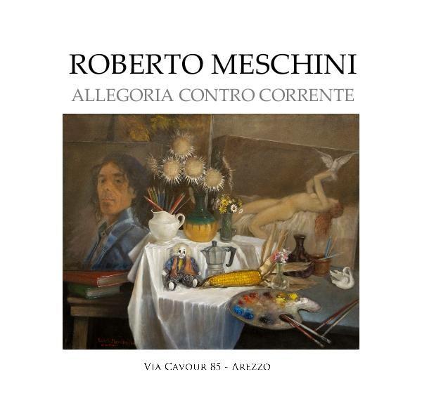 Roberto Meschini è nato a Laterina (AR) nel 1943 e vive ad Arezzo. Con il babbo Aldo, falegname, fin da piccolo crea opere artigianali in legno e sculture in argilla. La conoscenza e la frequentazione di importanti maestri contribuiscono alla sua crescita artistica negli anni. Sensibilissimo amante della natura, con la quale si sente in simbiosi, nonché poeta del colore, Meschini affronta l'arte con amore e dedizione spaziando dal paesaggio al ritratto, dall'incisione calcografica e…